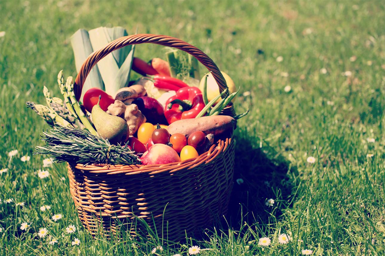 Frugt og grønt kurv Smagfuldmundfuld