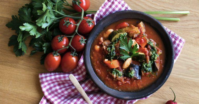 Rustik tomatsuppe