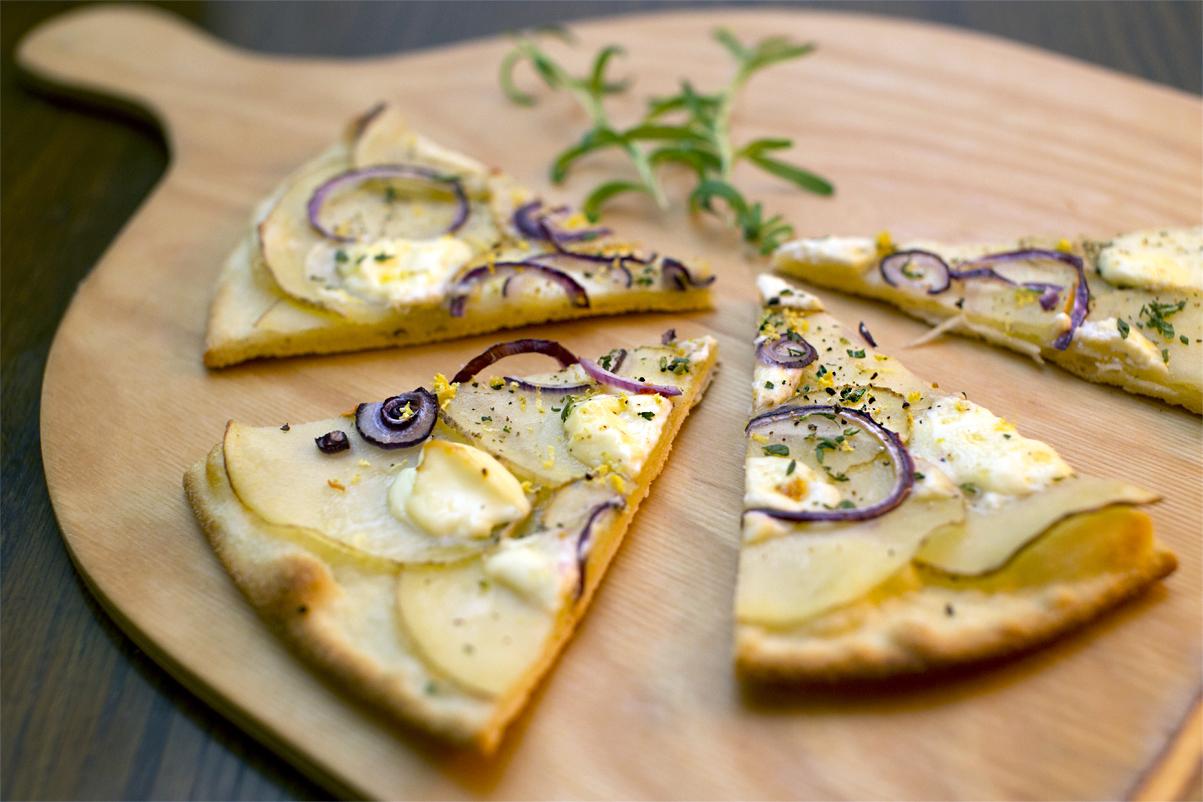 Pizza Bianca med kartofler