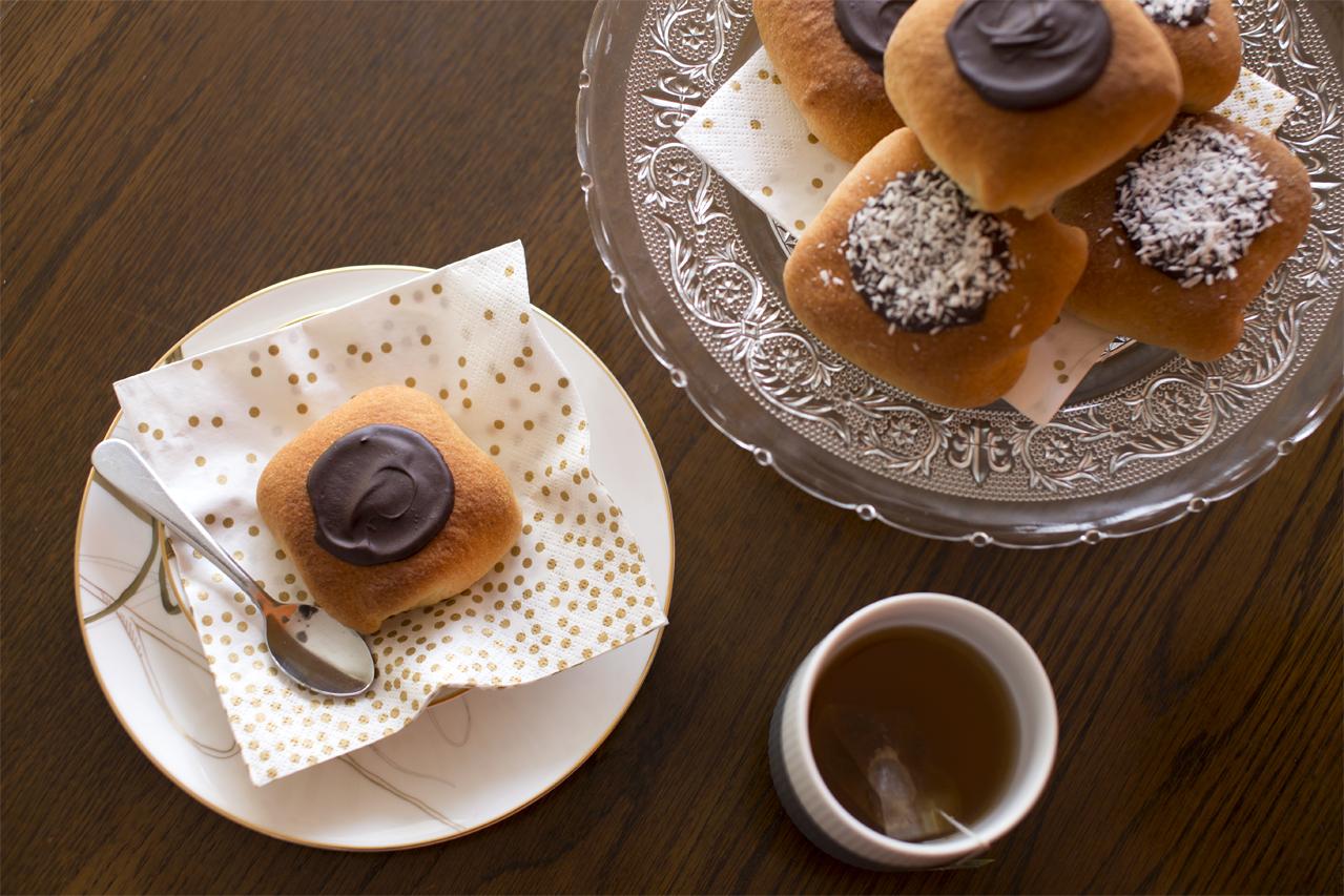 Deluxe fastelavnsboller med remonce og vaniljecreme