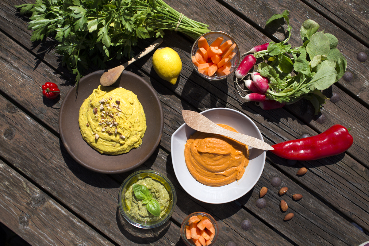 SUNDdag! Hummus i nye farver
