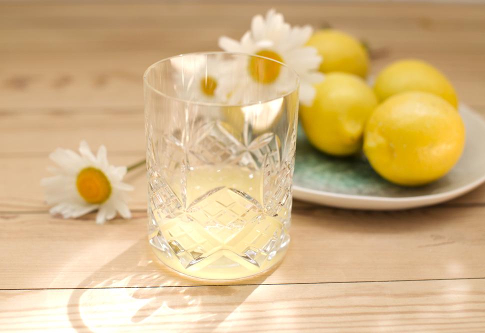 ingefær shot med citron