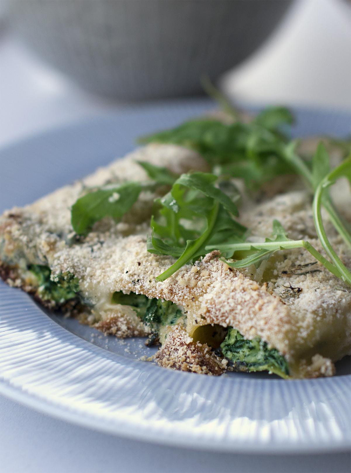 Cannelloni med laks og ricotta