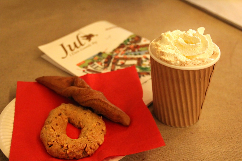 Julegodter i Den Gamle By - klejne og kakao