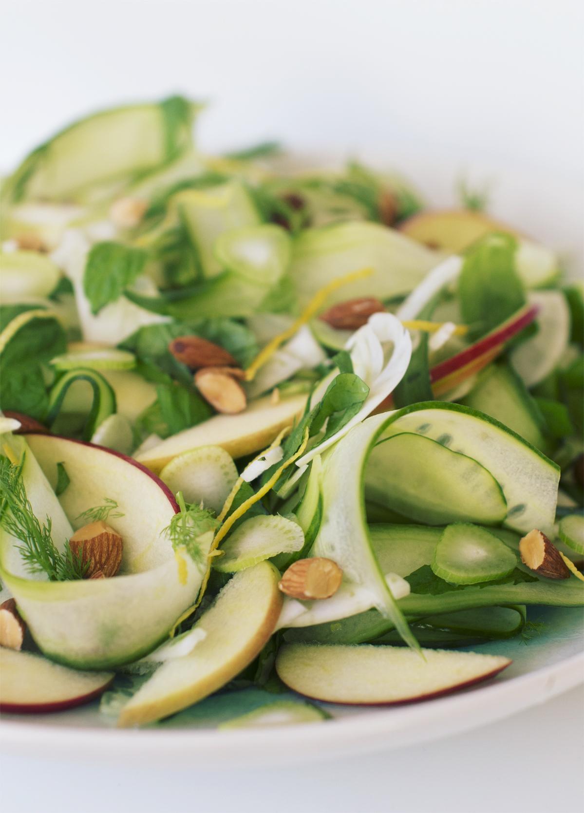 agurk-fennikel salat