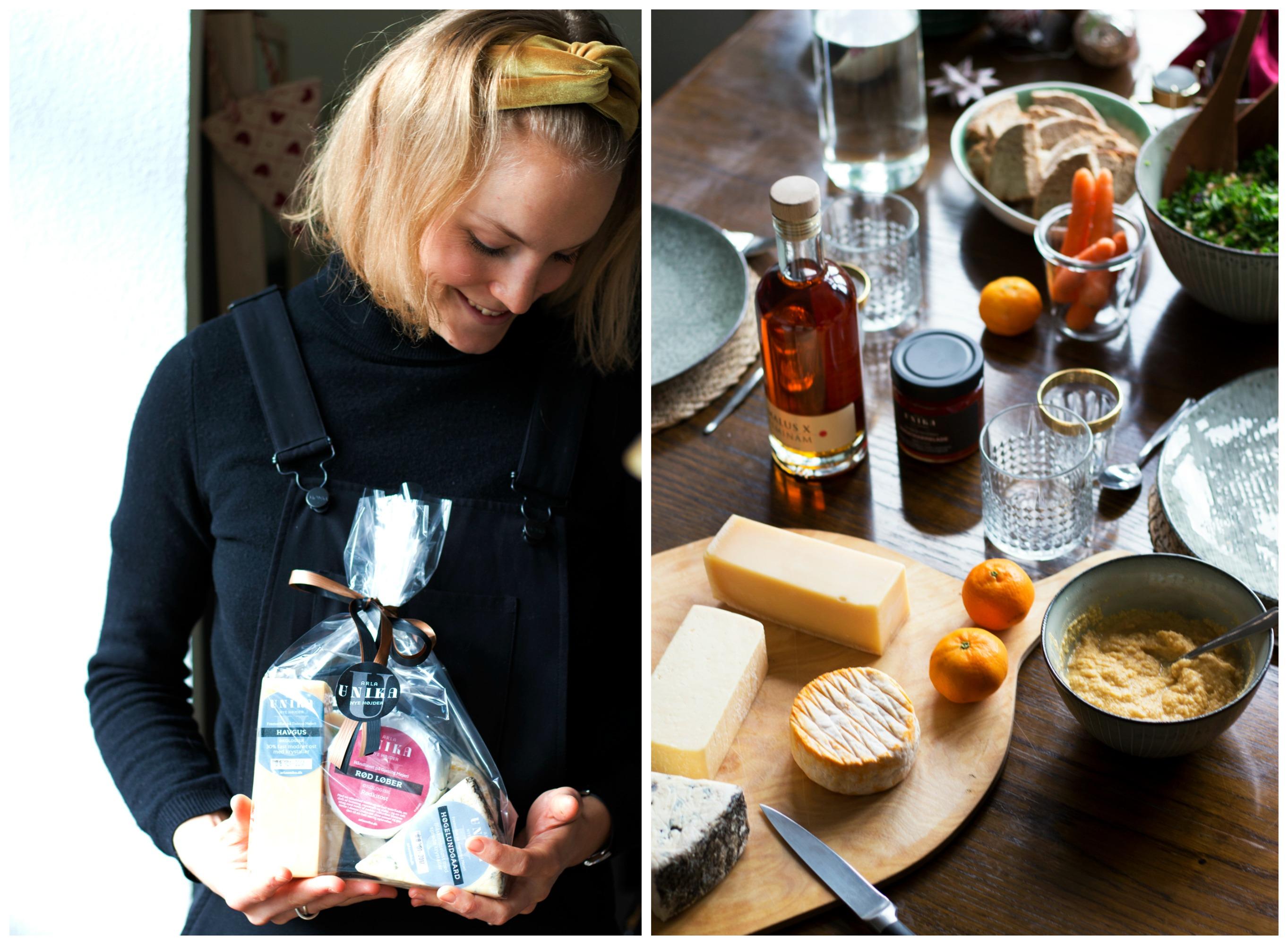 Maja og ostebord