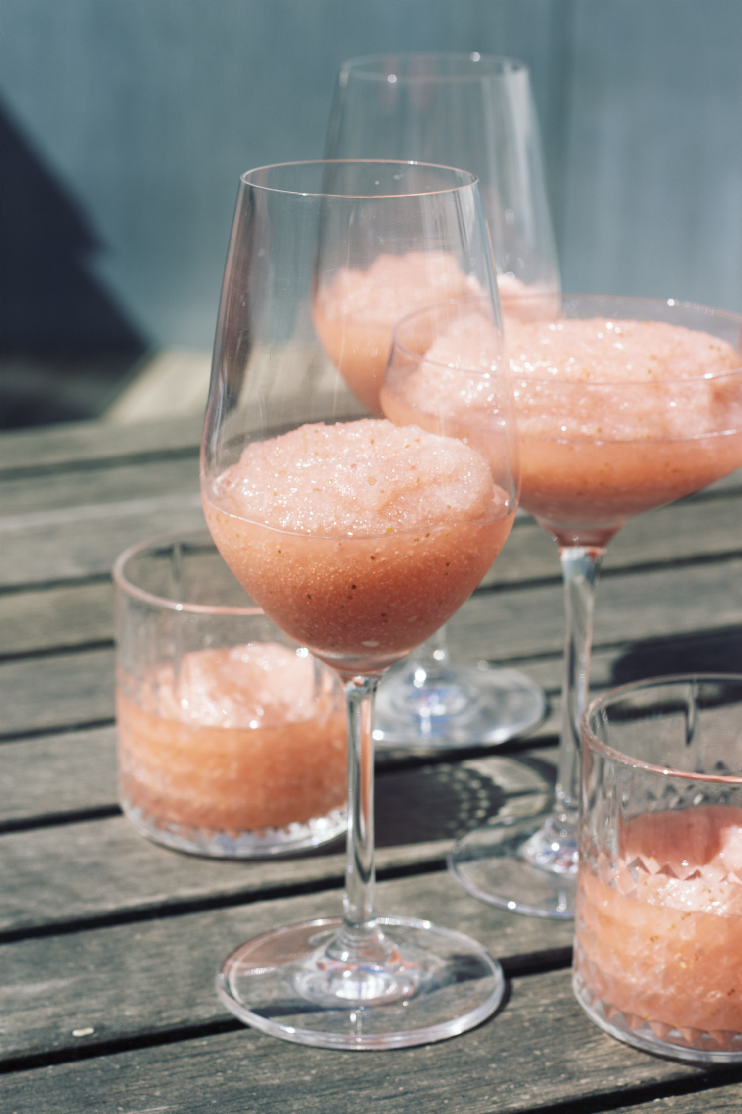 Frosé – Den ultimative sommerdrink