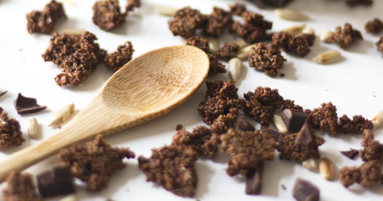 Chokoladegranola med amarant