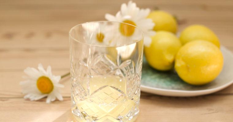 Ingefærsaft med citron og honning
