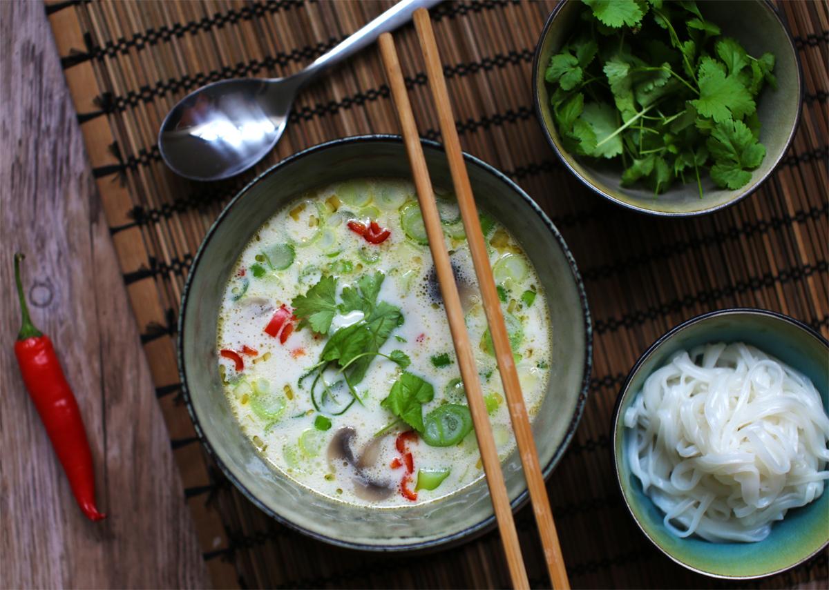 Tom kha gai – Thailandsk kyllingesuppe