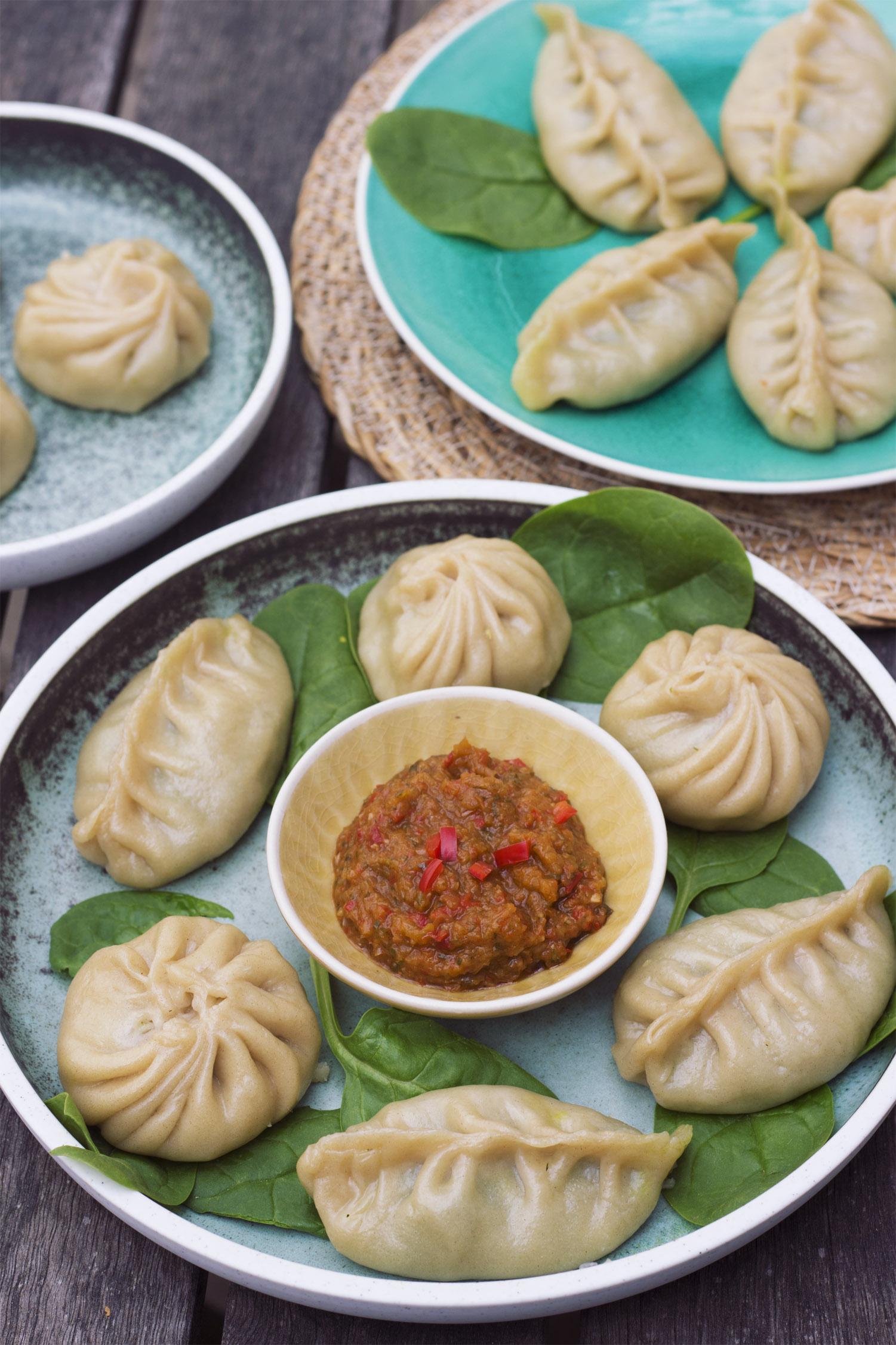 Tibetanske Momo's – To varianter